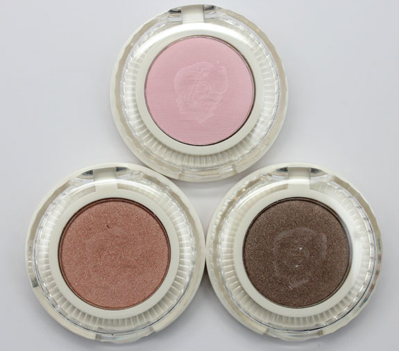 Benefit Longwear Powder Shadow 2 Benefit Longwear Powder Eyeshadow for Spring 2013 Swatches & Review