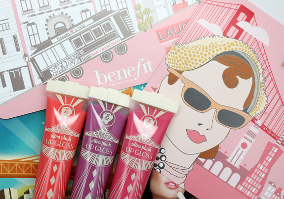 Benefit Ultra Plush Gloss Benefit Ultra Plush Glosses for Spring 2013 Swatches & Review