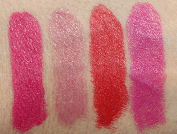 Bite Beauty Pastille Collection Swatches