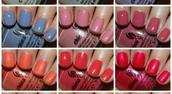 China Glaze Avant Garde Collage