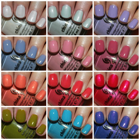 China Glaze Avant Garden Collage