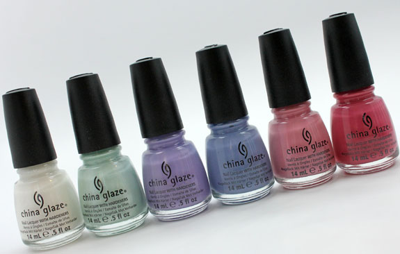 China Glaze Avant Garden 2 China Glaze Avant Garden for Spring 2013 Swatches & Review