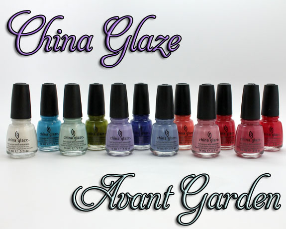 China Glaze Avant Garden China Glaze Avant Garden for Spring 2013 Swatches & Review