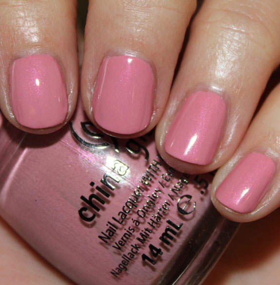 China Glaze Pink ie Promise