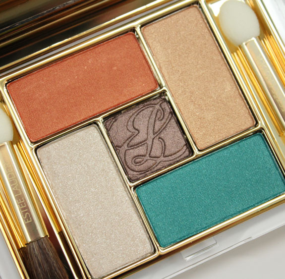 Estee Lauder Pure Color Five Color Eyeshadow Palette in Batik Sun