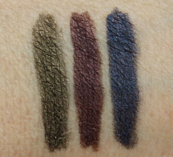 Flower Easy On The Eyes Long Wear Eyeliner Swatches