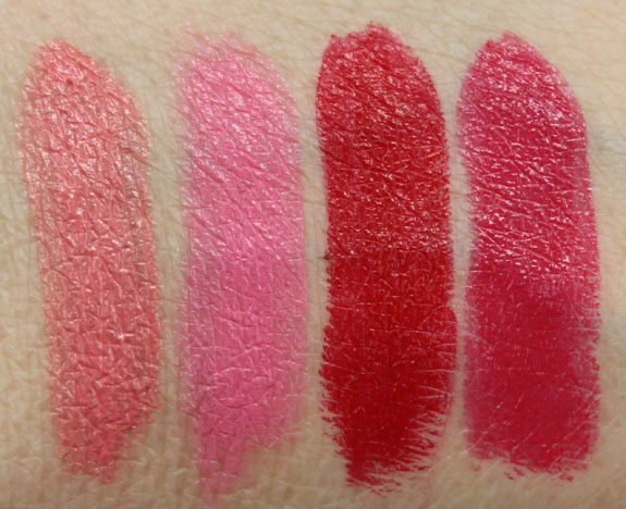 Flower Kiss Stick High-Shine Lip Color Swatches