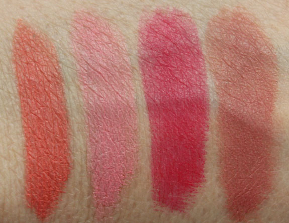 Flower Kiss Stick Velvet Lip Color Swatches