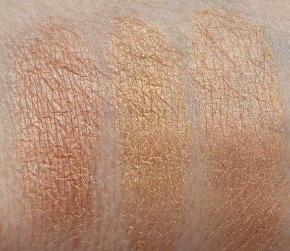 Happy Booster Glow & Mood Boosting Baked Light Bronzer Swatch