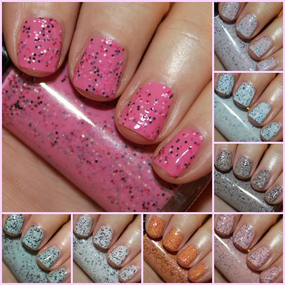 Hard Candy Candy Sprinkles Collage