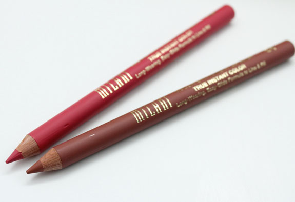 Milani Color Statement Lip Liner Haute Pink and All Natural
