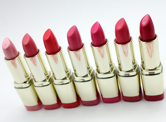 Milani Color Statement Lipstick Pinks and Corals-3