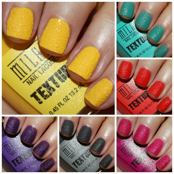 Milani Texture Collage