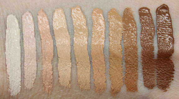 Nars Radiant Creamy Concealer Swatches Amp Review Vampy