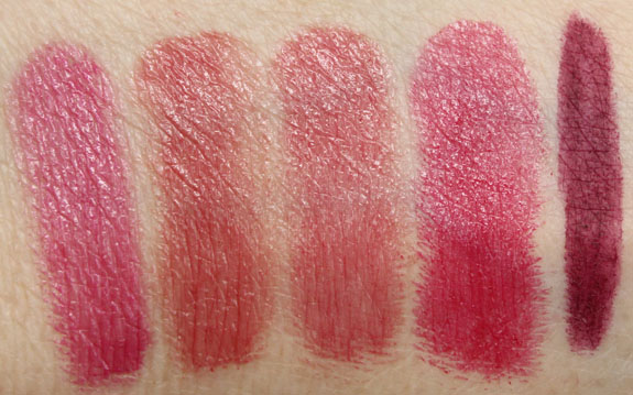Too Faced La Creme Color Drenched Lip Cream Spring 2013 Swatches