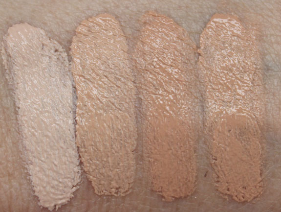 Wet n Wild Coverall Cream Foundation Swatc hes