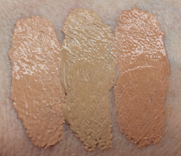 Wet n Wild Coverall Cream Foundation Swatches-2