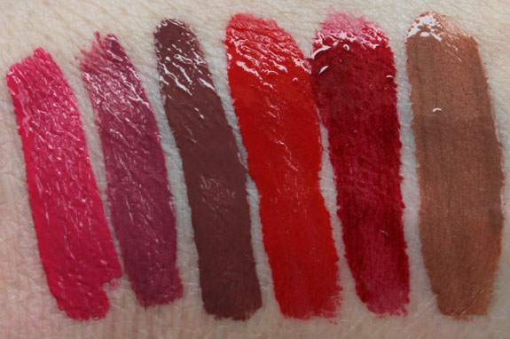 Wet n Wild Megalast Liquid Lip Color Swatches-2