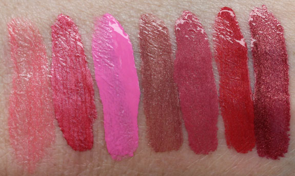 Wet n Wild Megalast Liquid Lip Color Swatches
