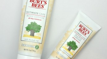 Burt's Bees Ultimate Care Body Lotion and Hand Cream