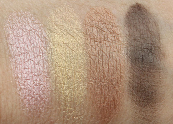 s Girls Betty Caramel Sundae Eye Shadow Quad Swatches