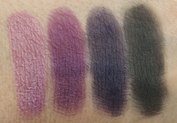 s Girls Veronica Eye Shadow Quad Spoiled Rich Swatches