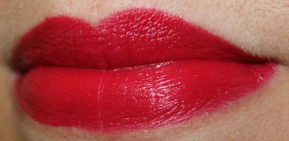 s Girls Veronica Ronnie Red Lipstick Swatch