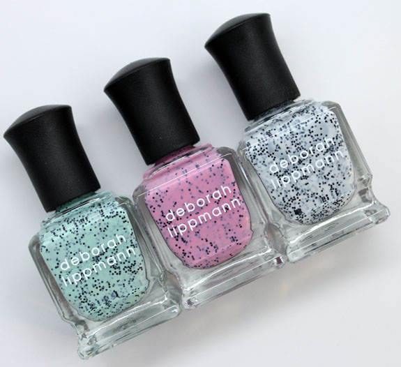 Deborah Lippmann Soring 2013 2 Deborah Lippmann Staccato Nail Collection for Spring 2013 Swatches & Review
