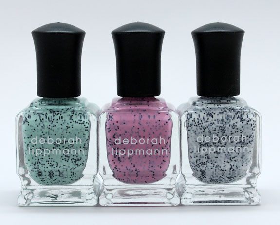 Deborah Lippmann Spring 2013 Deborah Lippmann Staccato Nail Collection for Spring 2013 Swatches & Review
