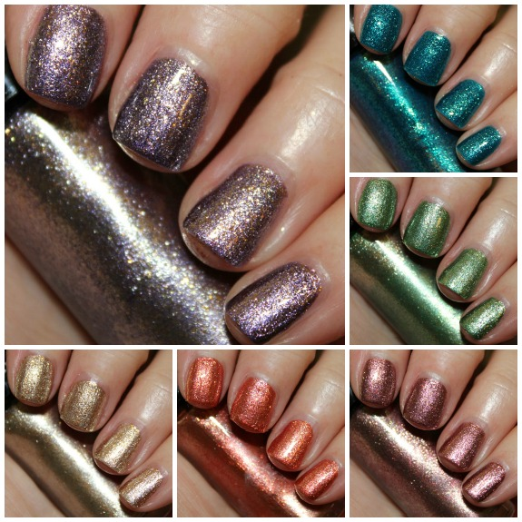 11e208e5d5 Hard Candy Crushed Chrome Collection Swatches & Review | Vampy Varnish