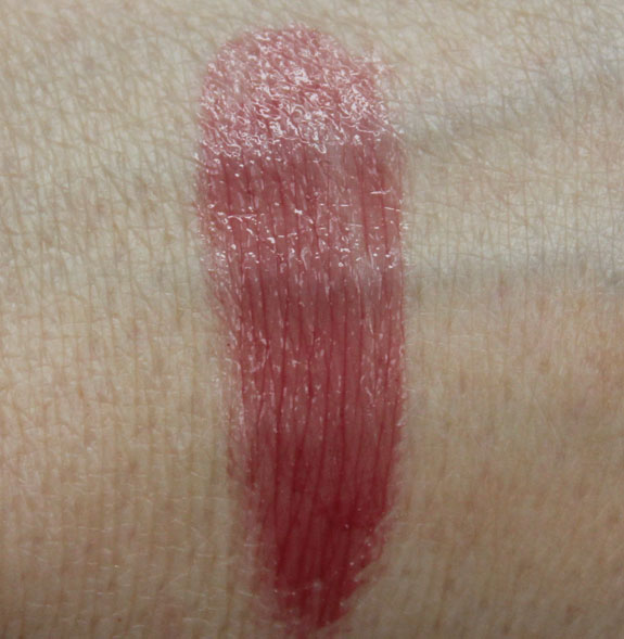 Korres Lip Butter in Plum Swatch