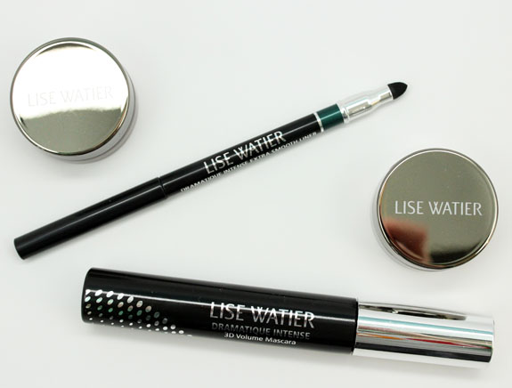 Lise Watier Ombre Souffle Supreme, Dramatique Intense Mascara, Extra Smooth Liner