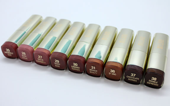 Milani Color Statement Lipsticks in Naturals and Browns-2