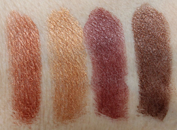 Milani Color Statement Lipsticks in Naturals and Browns Swatches-2