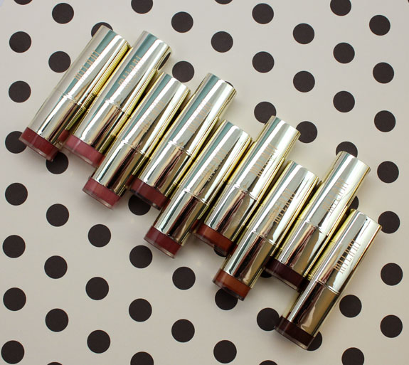 Milani Color Statement Lipsticks in Naturals and Browns