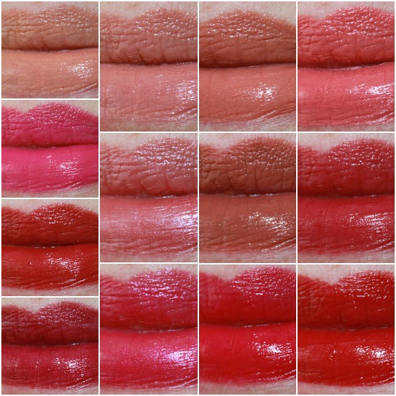 NARS Satin Lip Pencil Collage