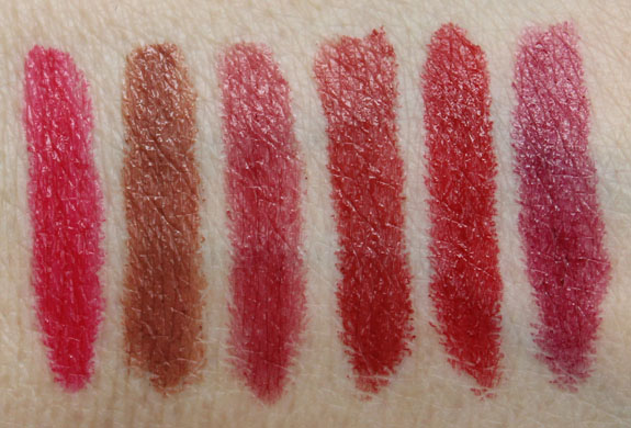 NARS Satin Lip Pencil Swatches-2