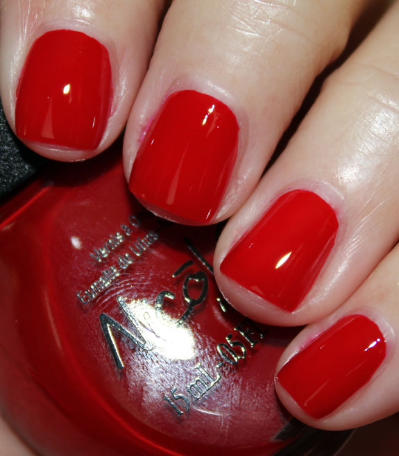 Nicole by OPI Challenge Red-Y