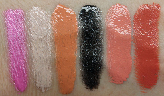OCC Sci-Fi Lullabies Lip Tar Swatches