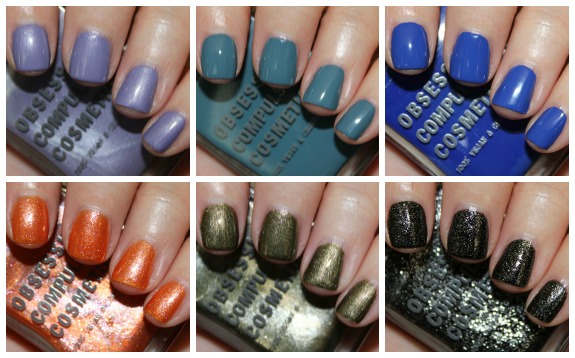 OCC Sci-Fi Lullabies Nail Lacquer Collage