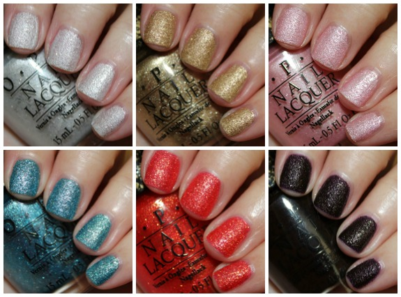 OPI Bond Girls Collage