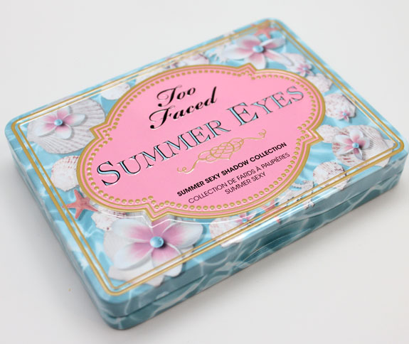 Too Faced Summer Eyes Too Faced Hello Sunshine Summer 2013 Collection Swatches & Review