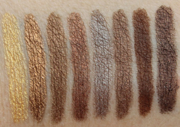 Urban Decay 24-7 Glide-On Eye Pencil Swatches-3
