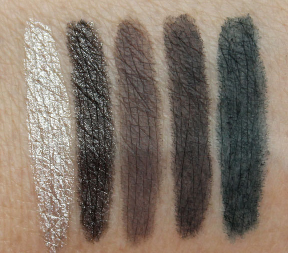 Urban Decay 24-7 Glide-On Eye Pencil Swatches-4