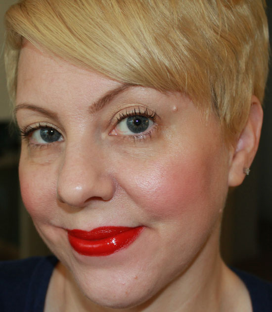 Wearing Milani High Voltage Bold Lips for Spring and Summer