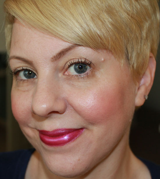 Wearing Milani Violet Volt Bold Lips for Spring and Summer