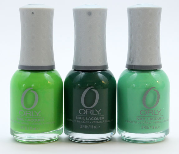 St. Patrick's Day Mani with Orly