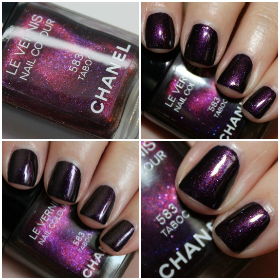 Chanel Le Vernis Taboo Collage