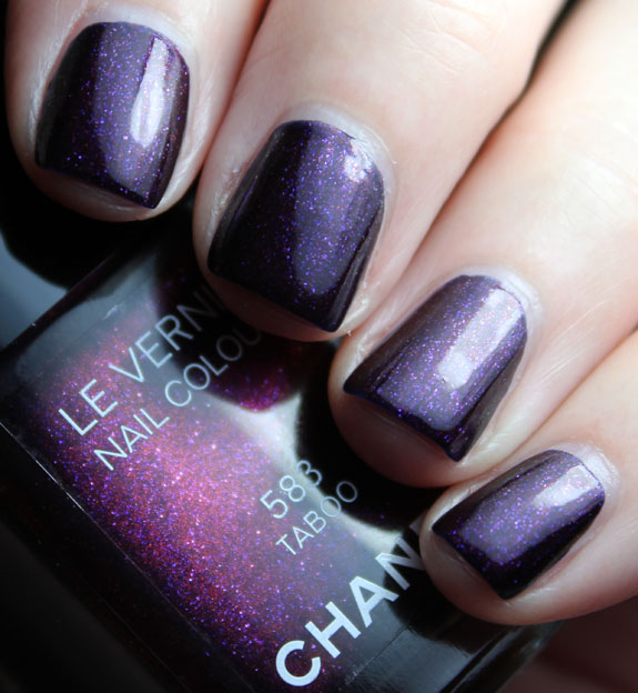 Chanel Taboo Swatch-3