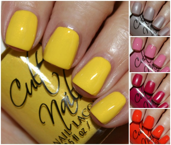 Cult Nails In The Garden Collage